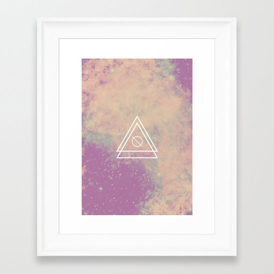 Space Bound Framed Art Print