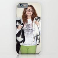 iPhone & iPod Case featuring Crazy Cat Lady Photograph by Rebecca Handler