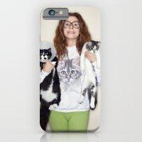 Crazy Cat Lady Photograp… iPhone 6 Slim Case