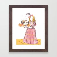 Salome Framed Art Print