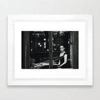 Vintage Chic II Framed Art Print
