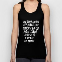 PERHAPS Unisex Tank Top