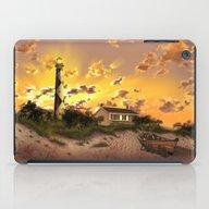 Lighthouse Landscape Sky iPad Case