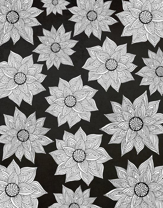 Elegant Flora Canvas Print