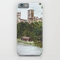iPhone & iPod Case featuring Durham view by Laura MSS