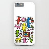 Haring - Simpsons iPhone 6 Slim Case