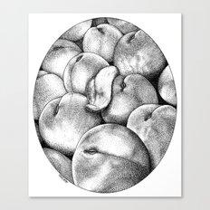 asc 628 - Les pêches de l'empereur (More juicy fruits) Canvas Print