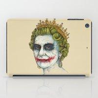 God Save the Villain! iPad Case