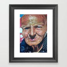 THE KING OF KENSINGTON Framed Art Print