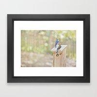 Nurture Framed Art Print