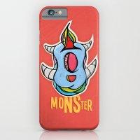Cute Monster iPhone 6 Slim Case