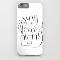 iPhone & iPod Case featuring Sing Your Song by Magpie Paper Works