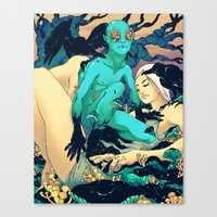 Sleep Paralysis Canvas Print