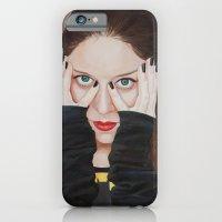 iPhone & iPod Case featuring Bat-man • SuperHeroines by Yulia Katkova