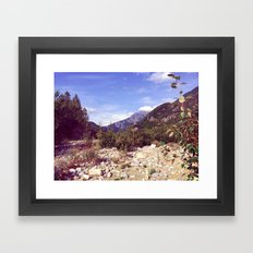 Land of Dreams Framed Art Print