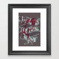 LOCO BAKED variant2 Framed Art Print
