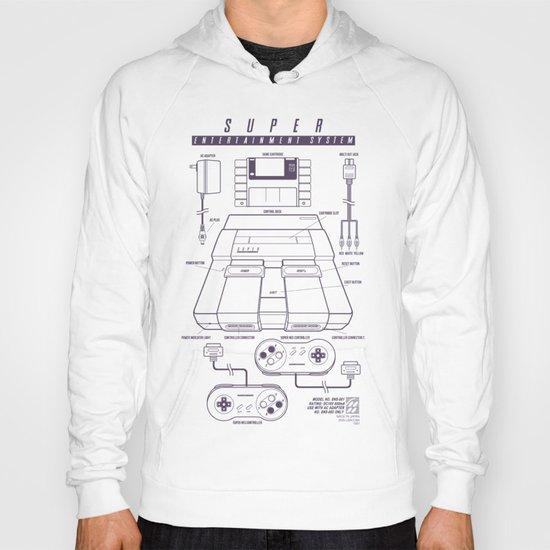 Super Entertainment System (light) Hoody