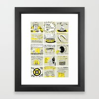 WHAT WOULD CHARLIE KELLY DO? Framed Art Print