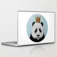 happy birthday Laptop & iPad Skins featuring happy birthday by Mari-ann Curtis