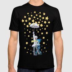 DMMd :: The stars are falling Black Mens Fitted Tee SMALL
