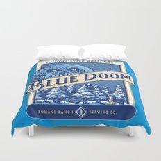Blue Doom Duvet Cover