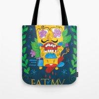 EAT MY SHORTS Tote Bag