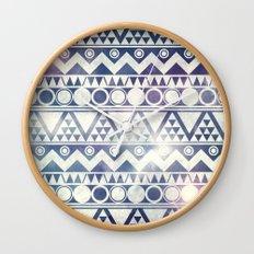 Tribal Gathering Wall Clock