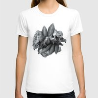 Another Place Womens Fitted Tee White SMALL