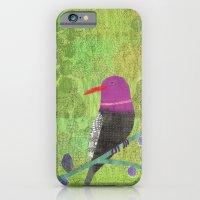 Fuchsia Bird iPhone 6 Slim Case