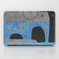 iPad Case featuring Thirsty Elephant  by Terry Fan