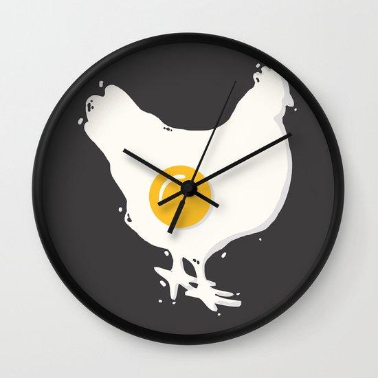 Fried Wall Clock