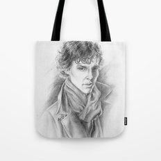 Sherlock Homles Tote Bag