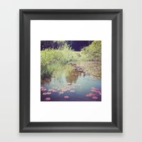 Lillypads Framed Art Print