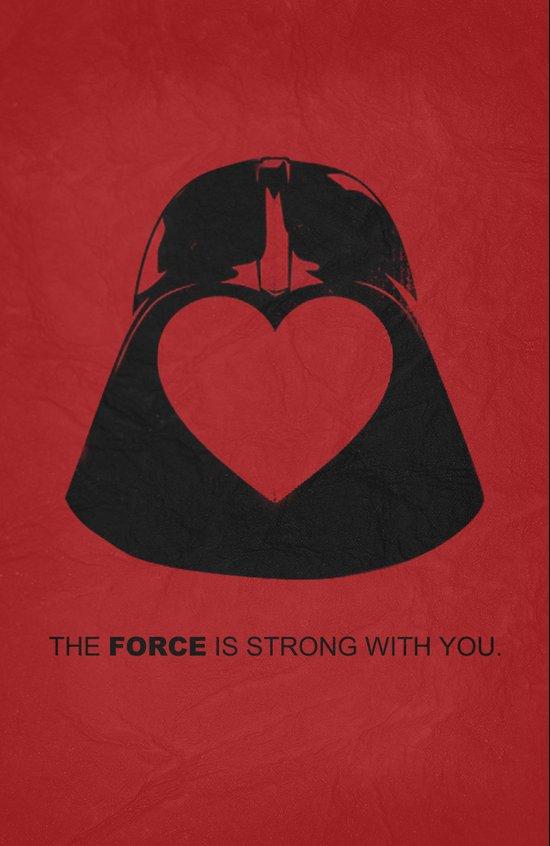 Star Wars - Valentine Poster Art Print