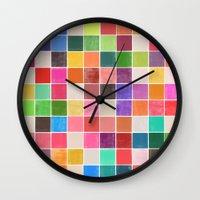 colorquilt 4 Wall Clock