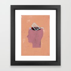 shoppinghead... Framed Art Print