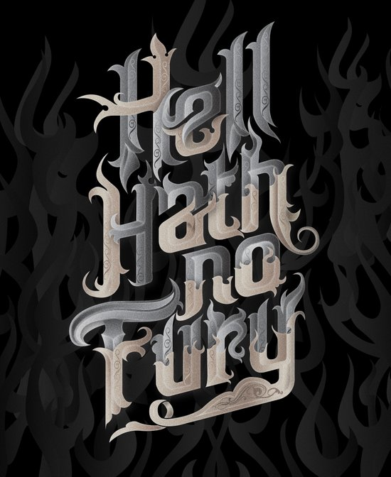 Hell Hath No Fury Canvas Print