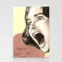 Thinking About The Futur… Stationery Cards