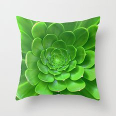 Green Within Throw Pillow