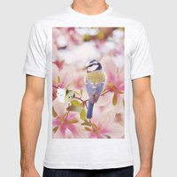 Blossom Buddies Mens Fitted Tee Ash Grey SMALL