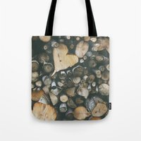Heart Shaped Wood Tote Bag