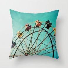 Aquamarine Dream Throw Pillow