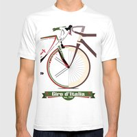 GIRO D'ITALIA  Mens Fitted Tee White SMALL