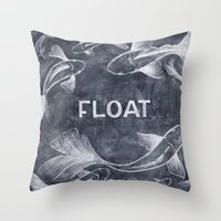 Float On Throw Pillow