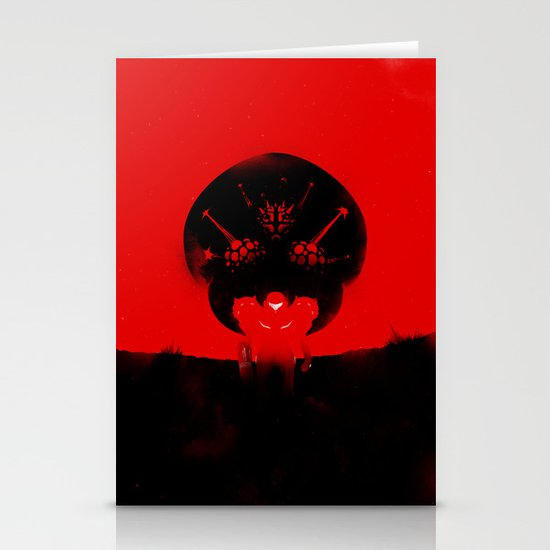 Super Metroid Stationery Card