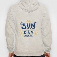Heraclitus - The sun is new each day Hoody