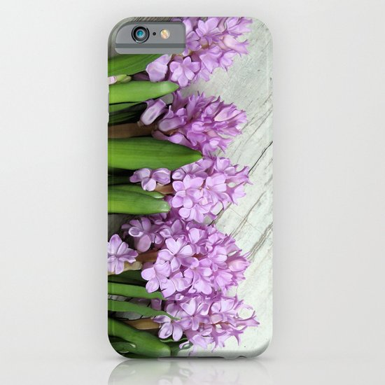 Hyacinths iPhone & iPod Case