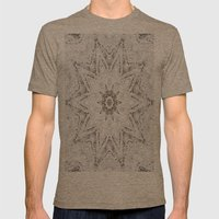 Snowflake Mens Fitted Tee Tri-Coffee SMALL