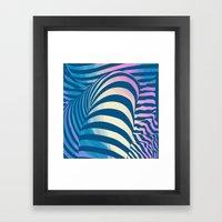 Shapes Of Things Framed Art Print
