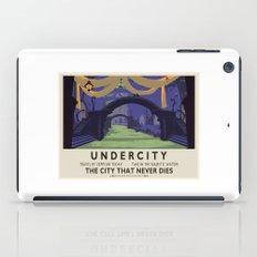 Undercity Classic Rail Poster iPad Case